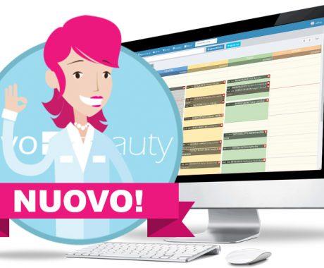 Nuovo software per centri estetici e parrucchieri