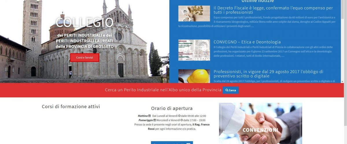 Nuovo Restyling sito web