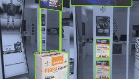 Promozione 3store, stampa e grafica.